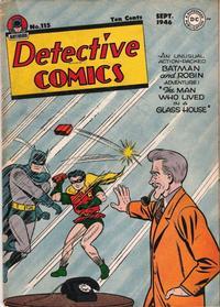 Detective Comics Vol 1 115
