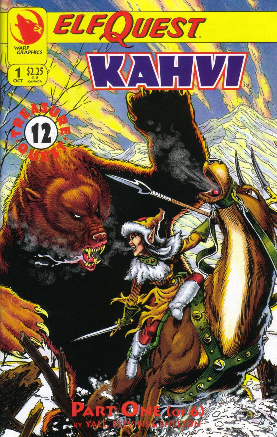 Elfquest: Kahvi Vol 1 1