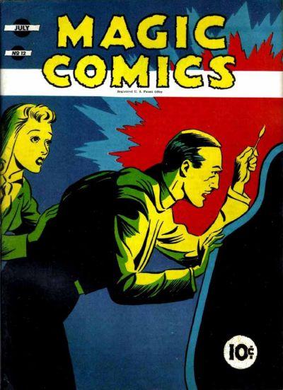 Magic Comics Vol 1 12