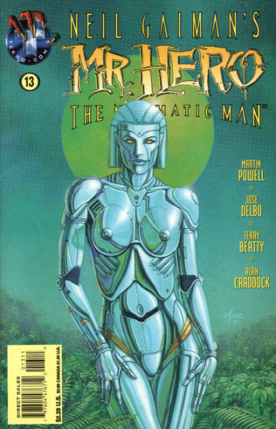 Neil Gaiman's Mr. Hero - The Newmatic Man Vol 1 13