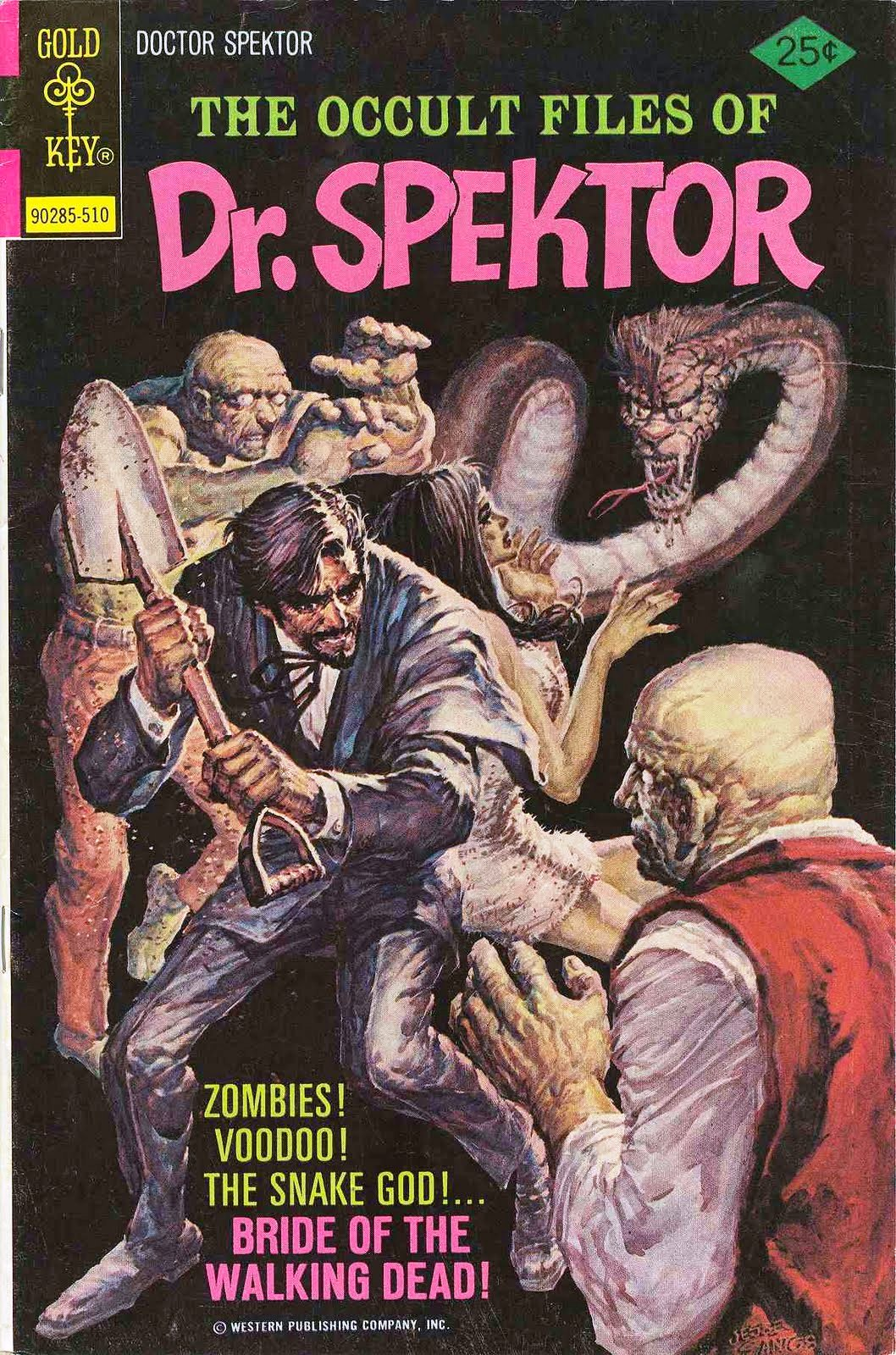 Occult Files of Dr. Spektor Vol 1 17