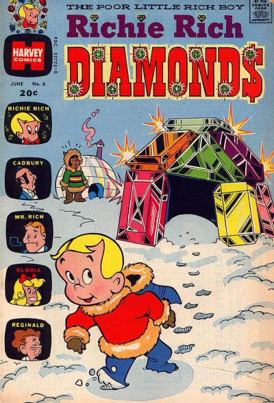 Richie Rich Diamonds Vol 1 6