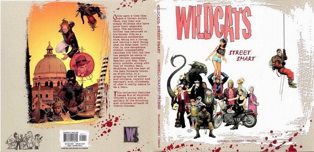 WildC.A.T.s: Street Smart Vol 1 1