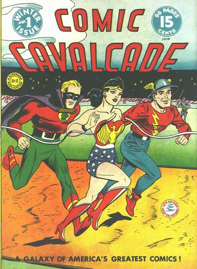 Comic Cavalcade/Covers