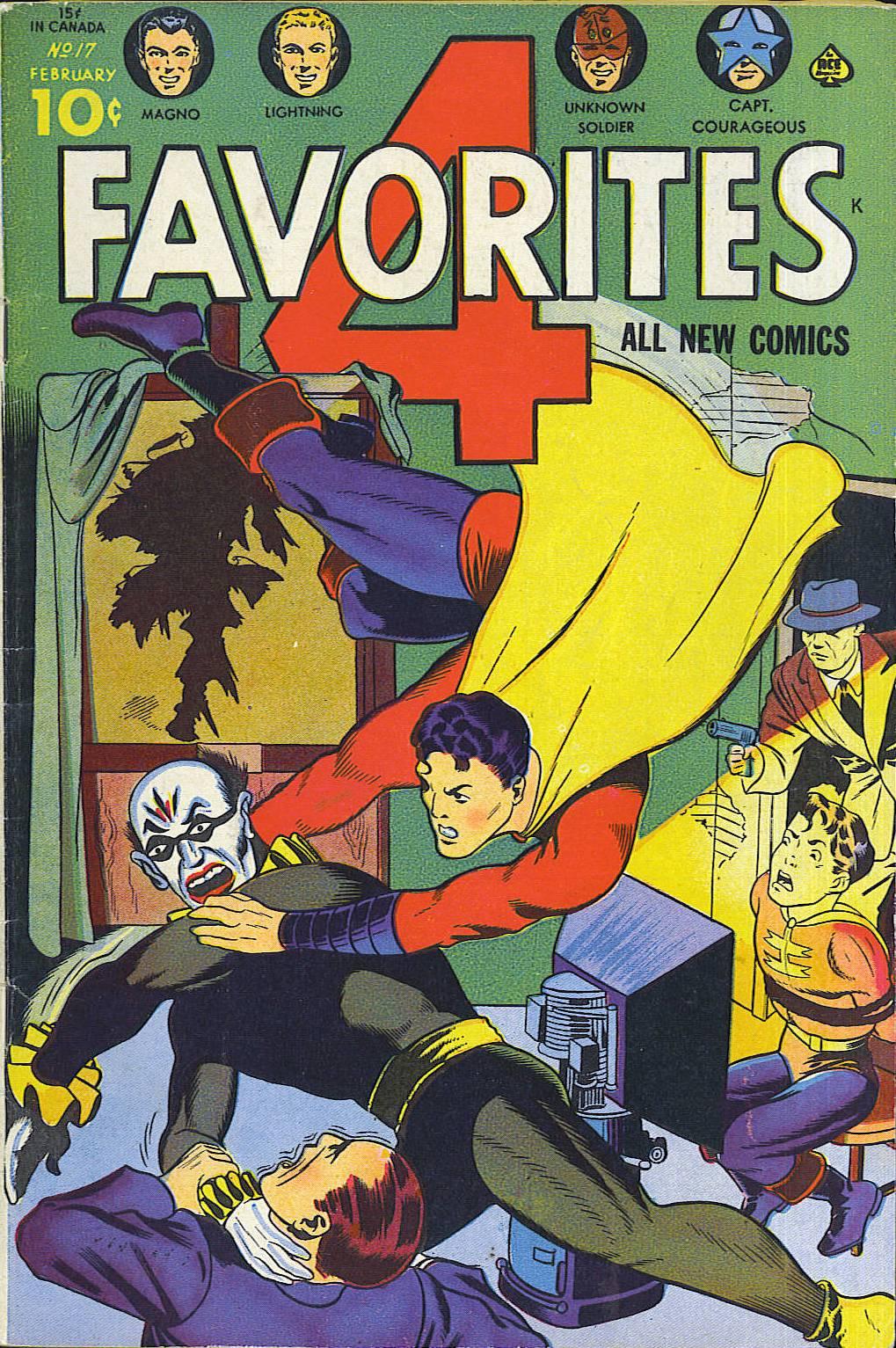 Four Favorites Vol 1 17
