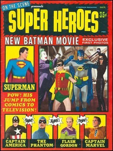 On The Scene Presents Superheroes Vol 1