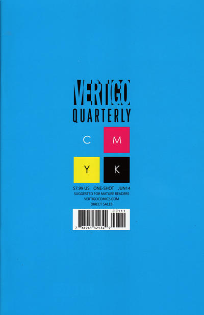 Vertigo Quarterly: Cyan Vol 1 1