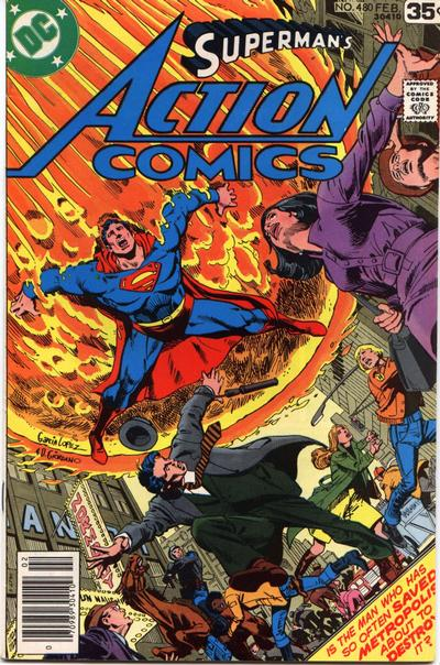 Action Comics Vol 1 480