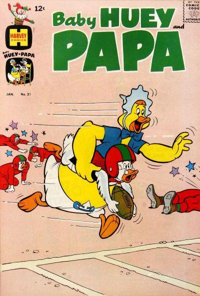 Baby Huey and Papa Vol 1 21