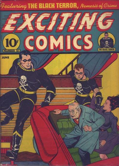Exciting Comics Vol 1 10
