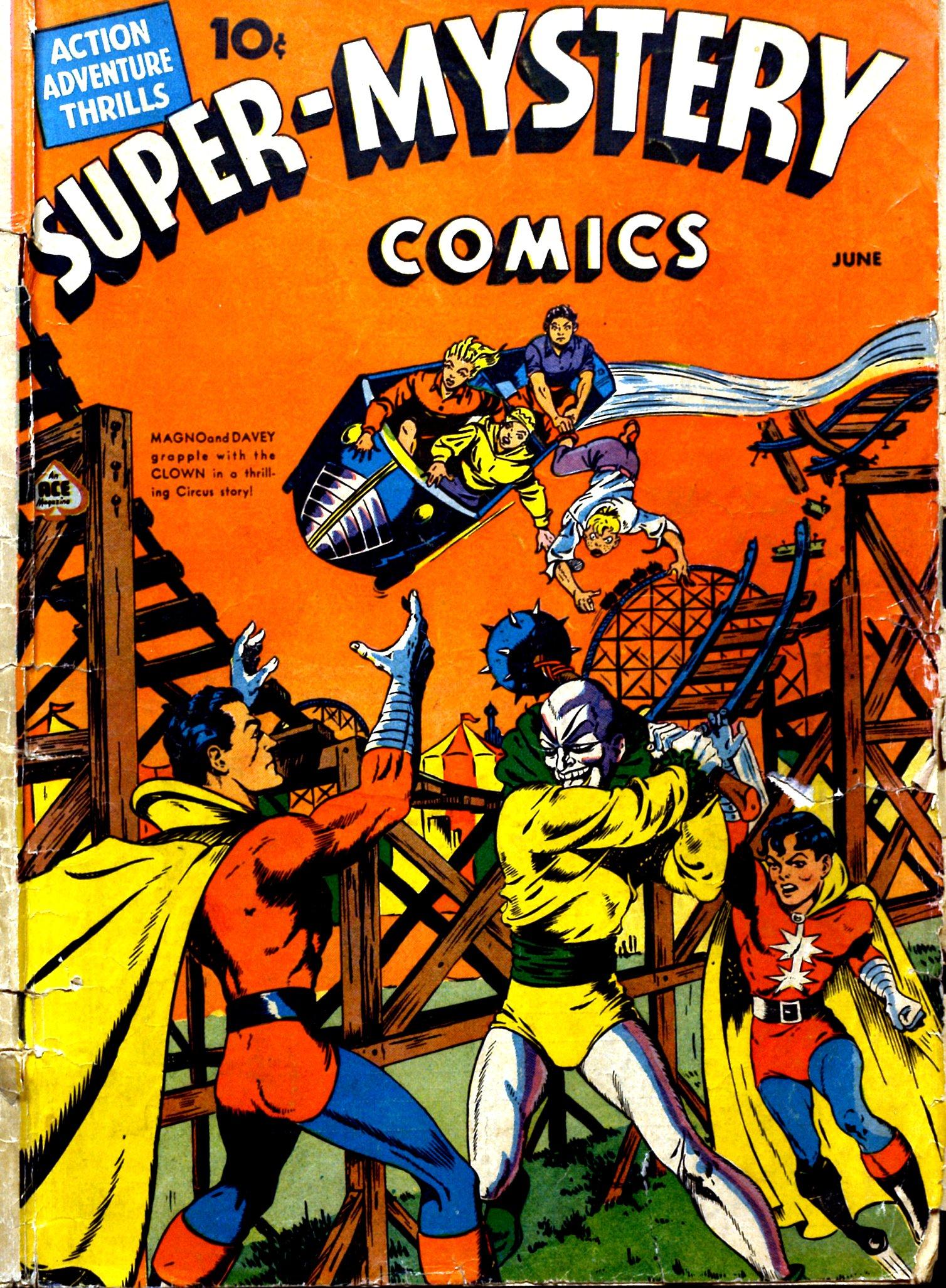Super-Mystery Comics Vol 2 2