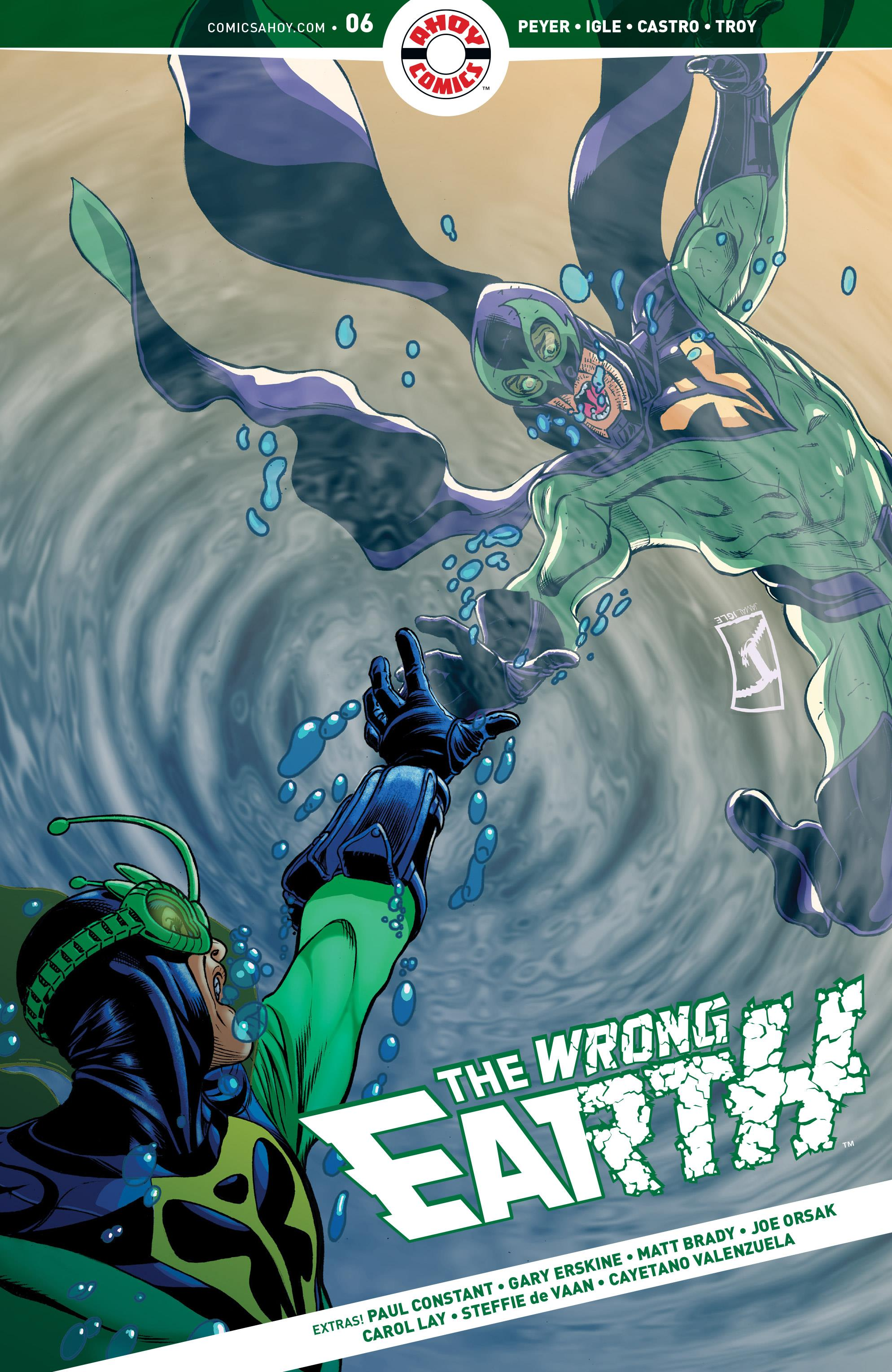The Wrong Earth Vol 1 6
