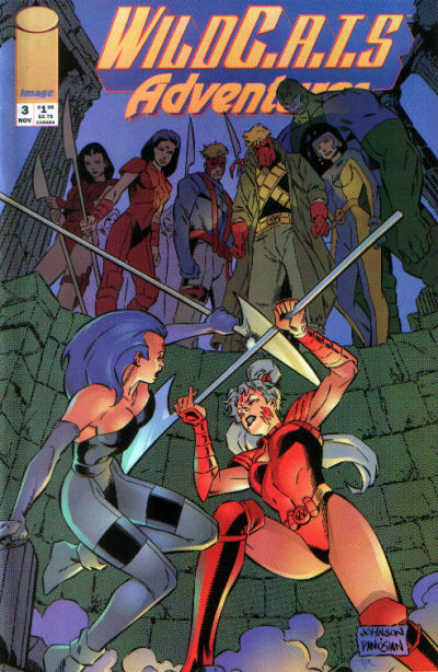 WildC.A.T.s Adventures Vol 1 3