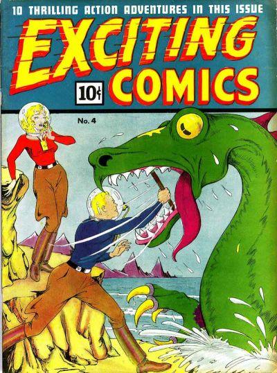 Exciting Comics Vol 1 4