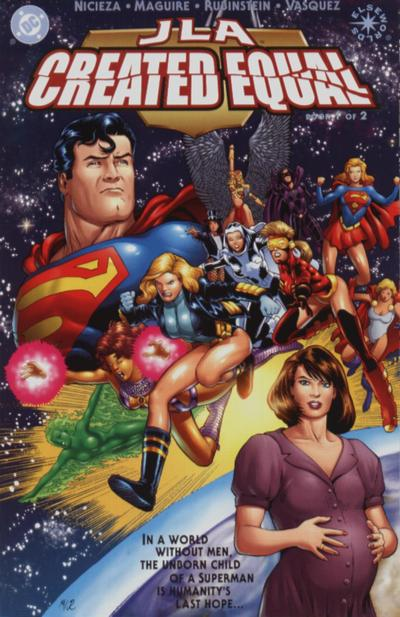 JLA: Created Equal Vol 1