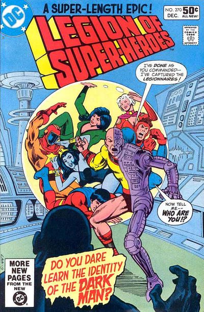 Legion of Super-Heroes Vol 2 270