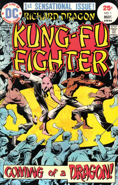 Richard Dragon, Kung Fu Fighter Vol 1