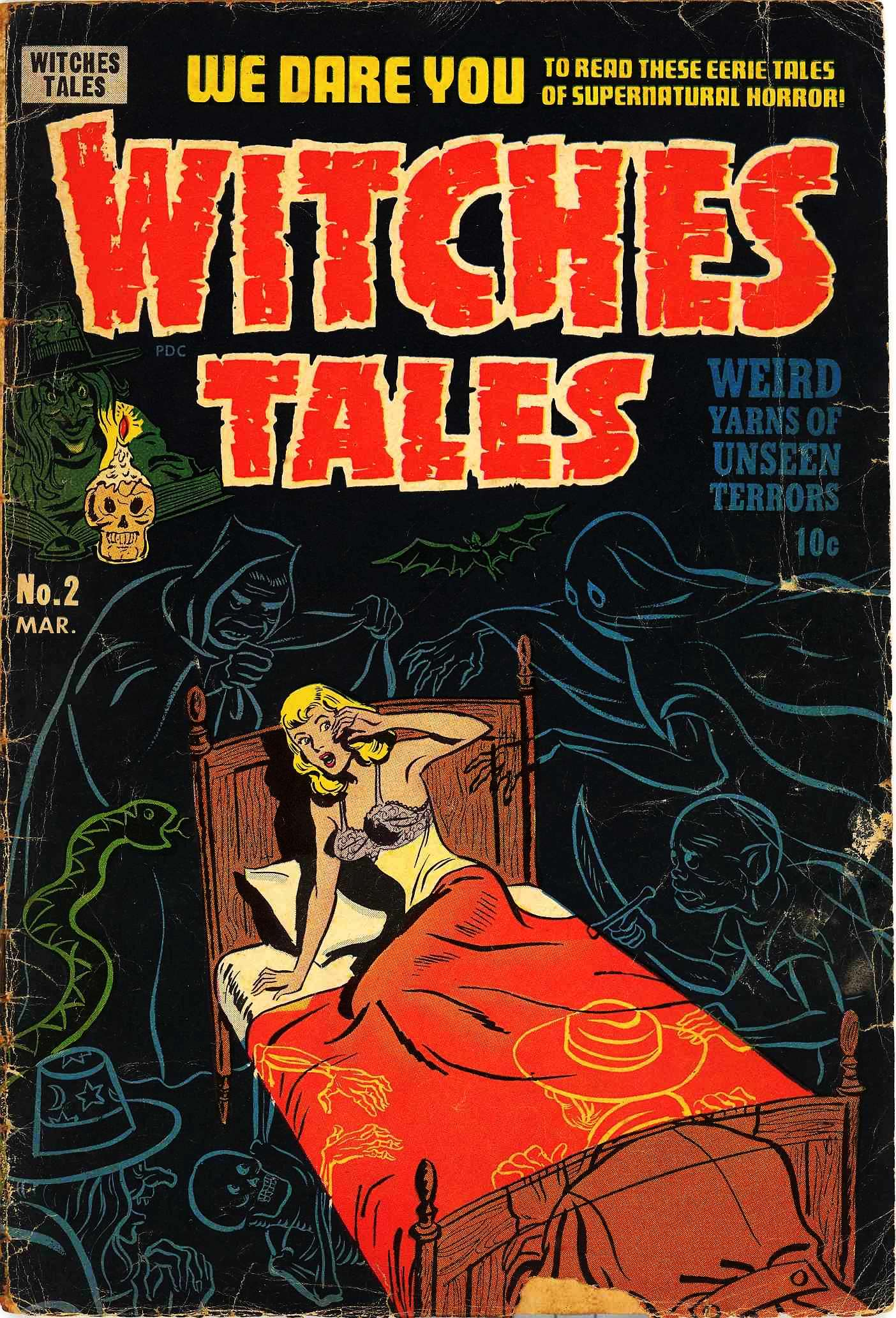 Witches Tales Vol 1 2