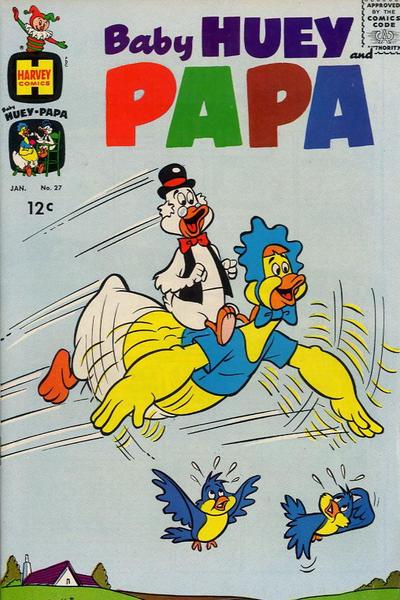 Baby Huey and Papa Vol 1 27