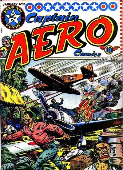 Captain Aero Comics Vol 1 13