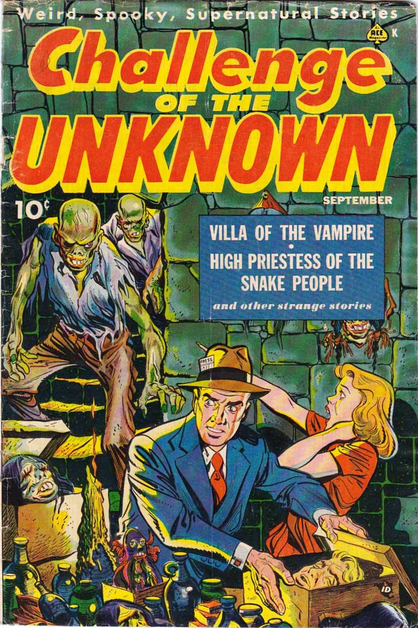 Challenge of the Unknown Vol 1 6