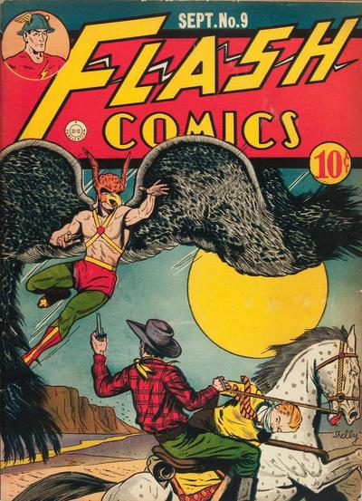Flash Comics Vol 1 9