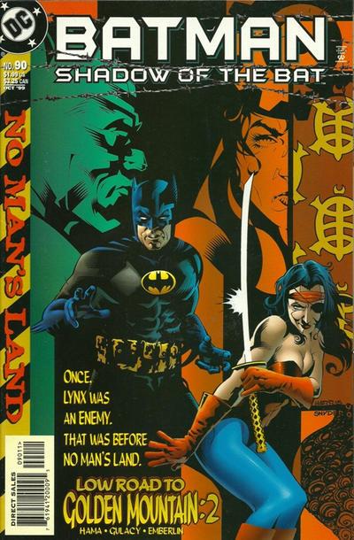 Batman: Shadow of the Bat Vol 1 90