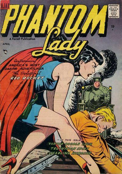 Phantom Lady (Ajax-Farrell) Vol 1 3