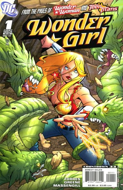Wonder Girl Vol 1 1