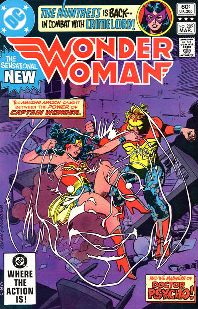 Wonder Woman Vol 1 289