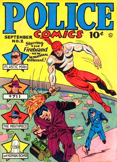 Police Comics Vol 1 2