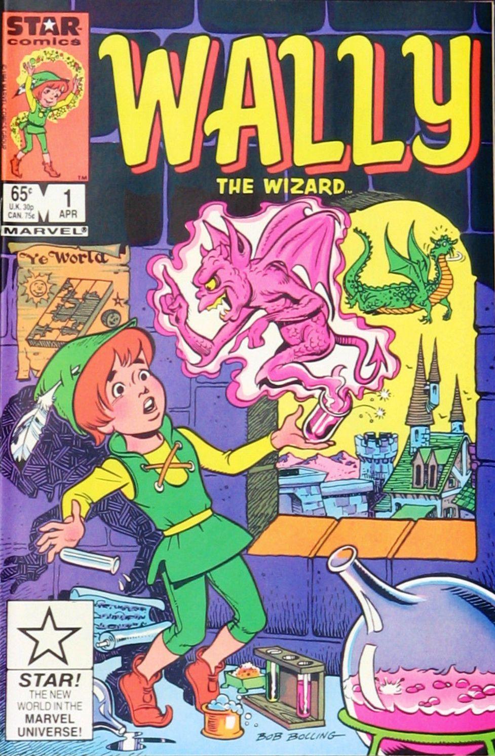 Wally the Wizard Vol 1