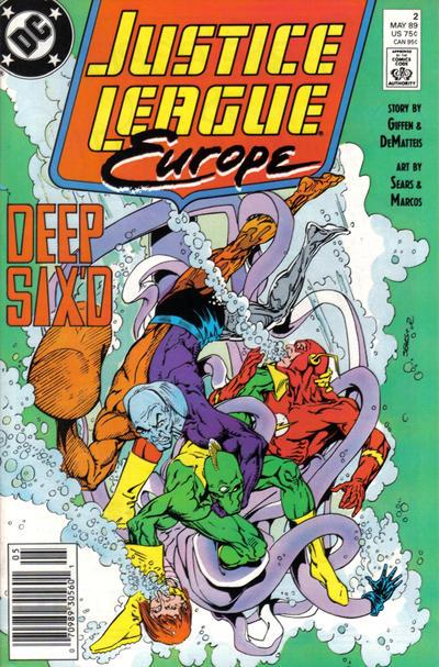 Justice League Europe Vol 1 2