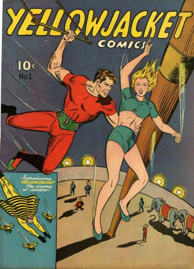 Yellowjacket Comics Vol 1