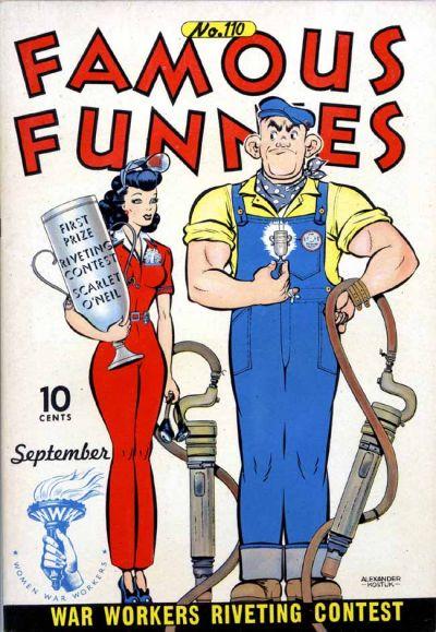 Famous Funnies Vol 1 110