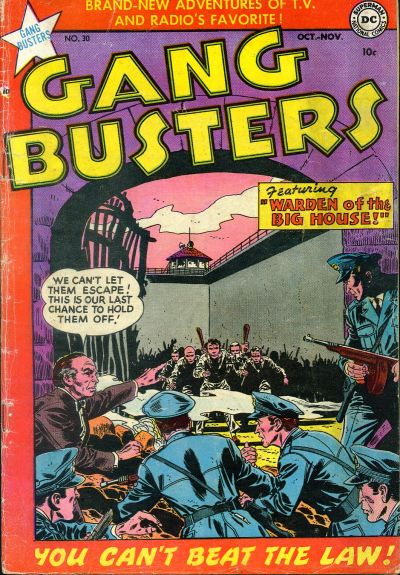 Gang Busters Vol 1 30