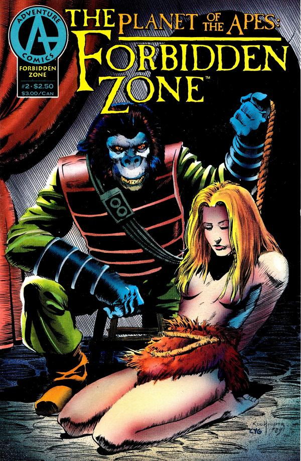 Planet of the Apes: The Forbidden Zone Vol 1 2