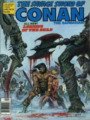 Savage Sword of Conan Vol 1 39