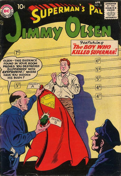 Superman's Pal, Jimmy Olsen Vol 1 28
