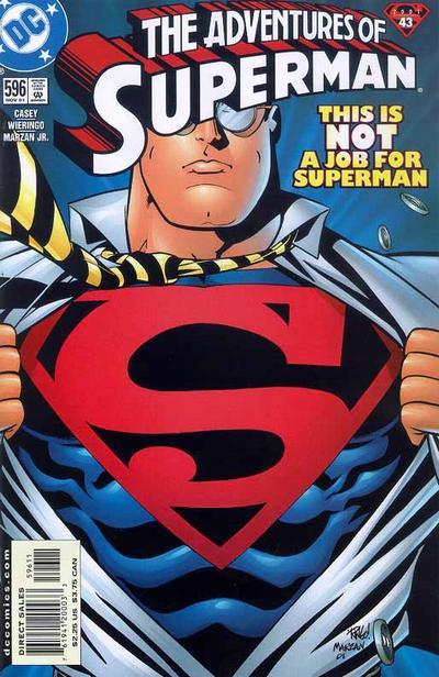 Adventures of Superman Vol 1 596