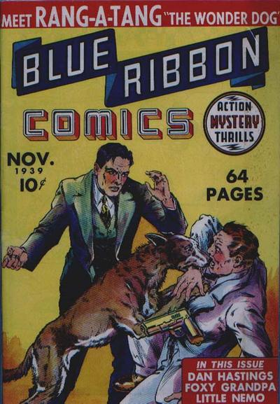 Blue Ribbon Comics Vol 1 1