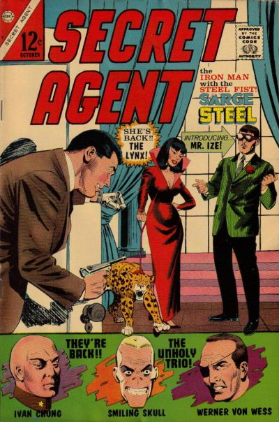 Secret Agent Vol 1