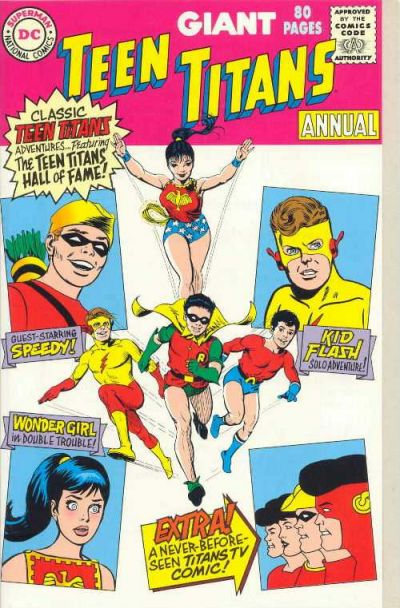 Teen Titans Annual Vol 1 1