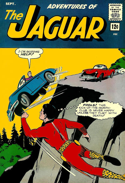 Adventures of the Jaguar Vol 1 14