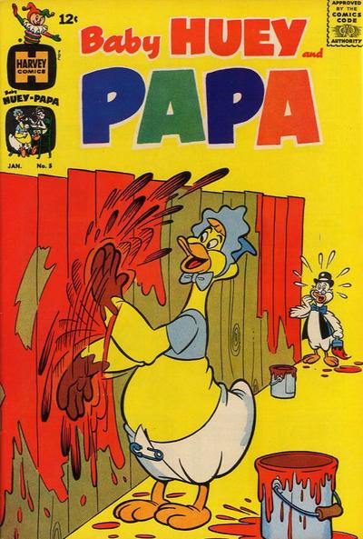 Baby Huey and Papa Vol 1 5