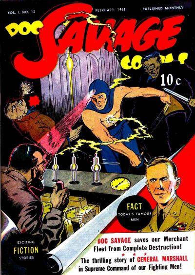 Doc Savage Comics Vol 1 12