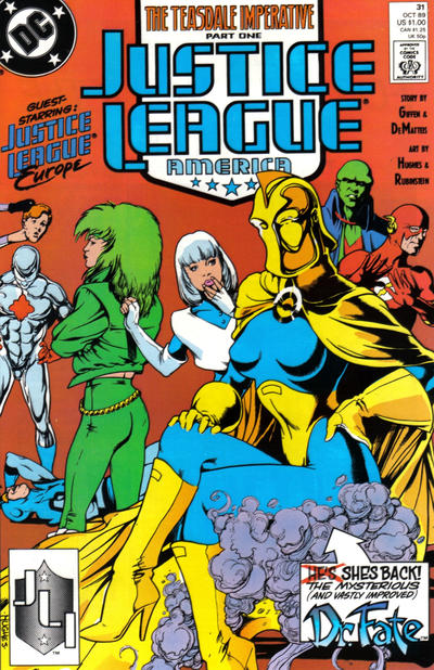 Justice League America Vol 1 31