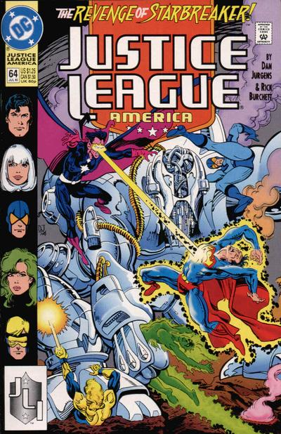 Justice League America Vol 1 64
