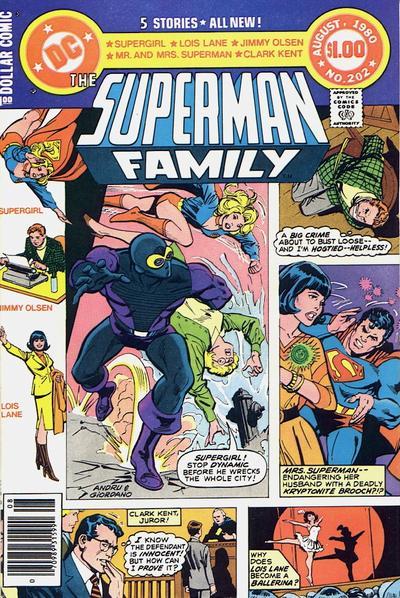 Superman Family Vol 1 202
