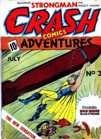 Crash Comics Adventures Vol 1 3